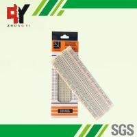 China MB-102 Color Solderless Breadboard Back Side With Adhesive Paper wholesale