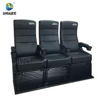 China Modern 4D Cinema Chair / Comfortable VIP High Back Movie Theater Seat wholesale