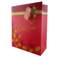 China Paper Bags Christmas Gift Bags Luxury Paper Gift Bags for holidays wholesale