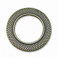 China Metal O-ring, Made of Zinc-alloy, Available in Two Sizes 1 and 1 wholesale