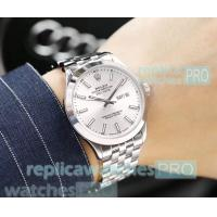 China Replica Rolex Day-Date White Dial Stainless Steel Watch Rolex Cheapest Price wholesale