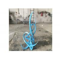 China Modern Style Out Door Decoration Stainless Steel Abstract Sculpture Arabic Sculpture wholesale