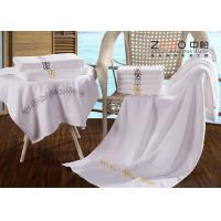 China Professional Hotel Pool Towels 100% Cotton With Embroidered Logo wholesale