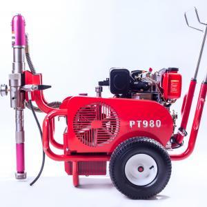 China Diesel Engine Electric Paint Sprayer Airless Sprayer Piston Pump 250 Bar 13.5 Lpm wholesale