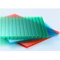 6mm Double Wall Polycarbonate Hollow Sheet Colored Polycarbonate Roof Sheet