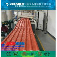 China Hot popular pvc plastic roofing sheet extrusion machine/glazed tile equipment extrusion line wholesale