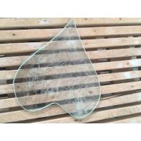 Buy cheap 4 / 3 / 2 Mm Beveled Edge Picture Frame Glass Tempered Technical Curve Flat from wholesalers