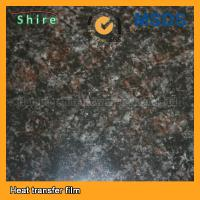 China Thermal Transfer Marble Effect Film Film , NON Toxic Decorative Wall Film wholesale