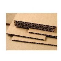 China Wood Pulp Corrugated Card Sheets 3.0mm Thickness Grey Color Anti - Collision on sale