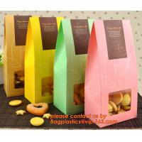 China Customize Translucent Window, Brown Greaseproof Kraft Paper Bag, Special Opp Window Bag, window bags, paper window bags, wholesale