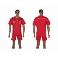 China 2014 The World Cup Spain home football jersey wholesale source wholesale