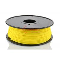 China Yellow Color 3mm 3D Printer PLA Filament For Solidoodle / Afinia 3D Printer wholesale