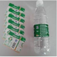 China PVC Water Bottle Shrink Sleeve Labels For Detergent Bottle Packaging wholesale
