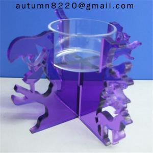 China CH (19) Wedding decoration crystal clear candelabra wholesale