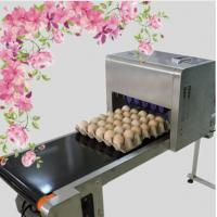 China Printing 120000 Eggs / H Egg Stamping Machine For Bar Code Or Graphic LOGO wholesale
