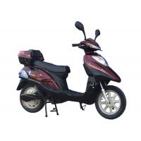 China Custom E scooter 350w , Adult Electric Motorcycle Red or pink color for girls wholesale