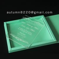 Quality B IC (9) deep impress wedding card for sale