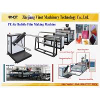 China Vinot Brand Feeding Air Bubble Film Making Machine with Different Specification 2000mm width Model No. DY-2000 wholesale