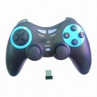 China Wireless PC Game Controller with Mini Dongle Receiver wholesale