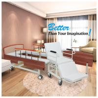 China Wooden Headboard Reclining Hospital Bed For Patient 2080*960*540mm wholesale