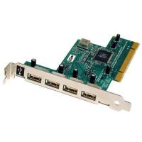 China 4+1 Ports Internal USB 2.0 HUB PCI Host Controller Card on sale