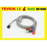 Buy cheap Reusable Integrated 5 leads Holter Recorder lead wires for GE patient monitor from wholesalers