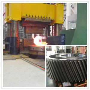 China MTC Hydraulic Press Forging Gear ASTM EN10228 STD Reducer Mining wholesale