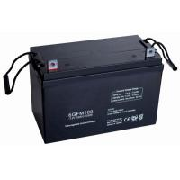 Buy cheap 6FM100H Lead Acid Vrla Batteries UPS 12v 100ah with Lead Calcium Grids from wholesalers