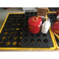 Quality Poly Oil Drum Containment Pallet Spill Platform For 4 Drum Chemical Fuel for sale