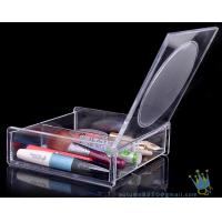 China clear acrylic makeup display organizer wholesale