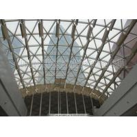 Wide Span High Strength Steel Roof Trusses Prefabricated Steel Structure