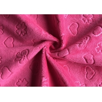 Quality Faux Fur Baby Use 5mm Pile Minky Plush Fabric for sale