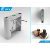 Stainless steel tripod turnstile with access control system , 1 year warranty