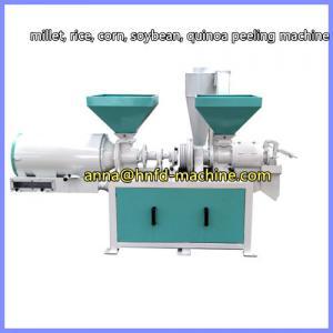China rice peeling machine, millet peeling machine,corn grit making machine wholesale