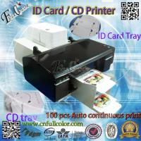 China 50 Pieces Auto Continuous Printing CD Printer With Print Tray for CD VCD DCD Custom Inkjet Printer Accessories wholesale