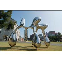Buy cheap Custom Size Stainless Steel Garden Statues For City Decoration OEM / ODM from wholesalers