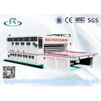 China Lead Chain Paper Feeder Semi-Automatic Printer Slotter Die Cutter on sale