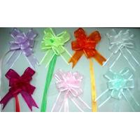 China Organza pull bow and Gift Packing Cake Decoration Bows wholesale