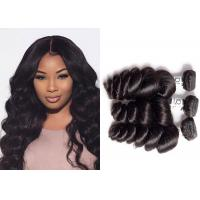 China Shiny And Beautiful Indain Loose Wave Hair Weave Bundles For Black Woman wholesale