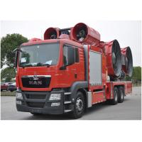 China Large Power Fire Brigade Truck / Fire And Rescue Vehicles ISO9001 / CCC wholesale