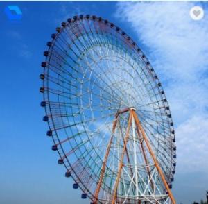 China Interesting Amusement Park Ferris Wheel Rides 15m 12 / 32 / 48 Capacity For Kids wholesale
