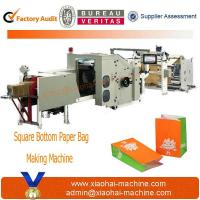 China CY-180 fully automatic paper bag making machine on sale