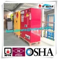 China Filtering Combustible Storage Cabinets With PP Board For Hazardous Material wholesale