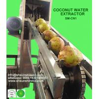 China High Efficiency Coconut Water Extractor Coconut Processing Machine wholesale