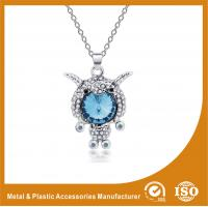 China Fashion Jewelry Goat Shape Metal Chain Necklace Lead & Nickel Free Zinc Alloy wholesale