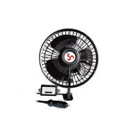 China DC 12V 6 Inch Oscillating Auto Fan With Switch for trucks / buses wholesale