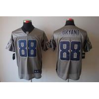 China Nike NFL Dallas Cowboys 88 Bryant Grey Shadow elite jersey www.doamazingbusiness.net wholesale