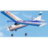 Quality 40 class Nitro trainer plane,high wing for sale