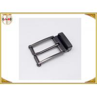 China Nickel-Free Zinc alloy Metal Belt Buckle / Center Bar Belt Buckle For Men wholesale