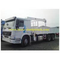 China Sinotruk howo truck mounted lorry crane 6x4 Right hand drive with warranty and spare parts wholesale